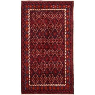 "Balouch Handmade Wool Oriental Persian Traditional Area Rug - 6'4"" x 3'6"""