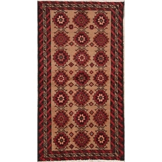 "Balouch Hand Knotted Oriental Persian Traditional Rug Wool - 5'10"" x 3'2"" runner"