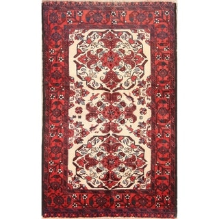 "Balouch Hand Knotted Vintage Persian Traditional Area Rug Wool - 5'8"" x 3'6"""