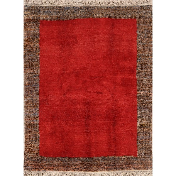 "Modern Tribal Wool Shiraz Handmade Persian Area Rug Wool - 6'5"" x 5'0"""