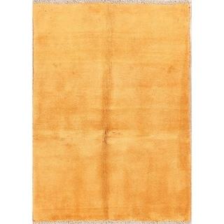 "Classical Wool Handmade Shiraz Gabbeh Persian Modern Area Rug - 4'9"" x 3'6"""