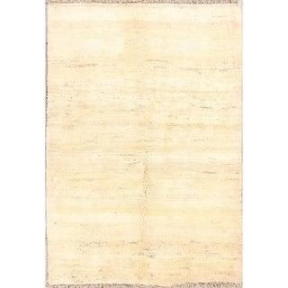 "Classical Tribal Wool Handmade Shiraz Gabbeh Persian Area Rug - 5'6"" x 3'10"""