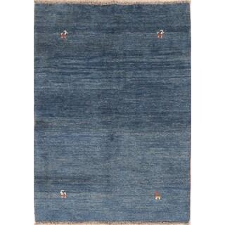 "Classical Tribal Wool Handmade Shiraz Gabbeh Persian Area Rug - 5'5"" x 3'11"""