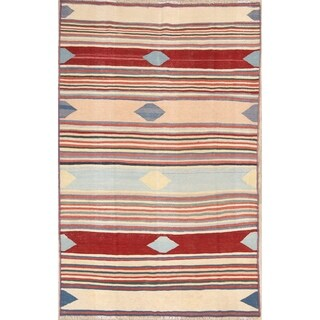 "Kilim Wool Shiraz Hand Woven Persian Traditional Area Rug - 9'8"" x 6'2"""