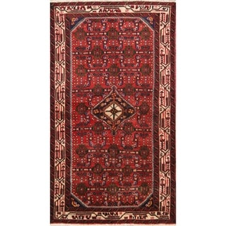 """Hand Knotted Persian Oriental Hamedan Traditional Rugs Wool - 6'0"""" x 3'5"""" runner"""