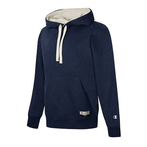 Shop Champion Authentic Originals Men s Sueded Fleece Hooded Sweatshirt -  Free Shipping On Orders Over  45 - Overstock - 25606645 fa4ee5caec79