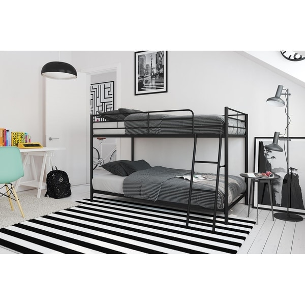 Avenue Greene Eliza Compact Twin-over-Twin Bunk Bed