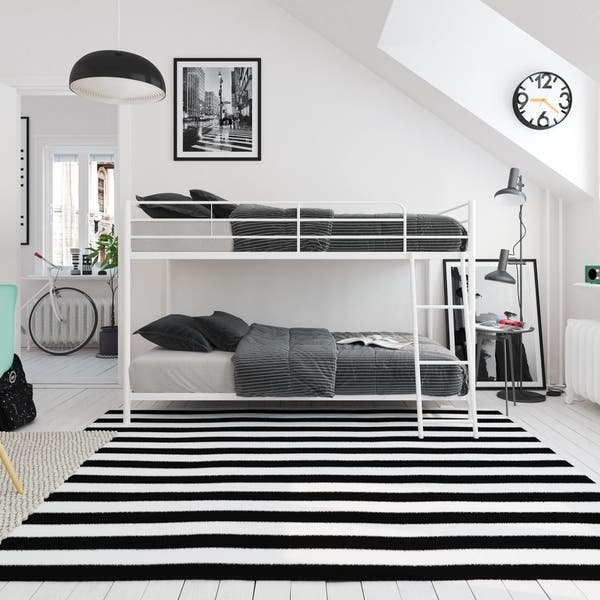 Avenue Greene Eliza Small Space Twin Over Twin Bunk Bed On Sale Overstock 25606672