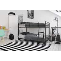 Avenue Greene Eliza Compact Twin-over-Twin Bunk Bed