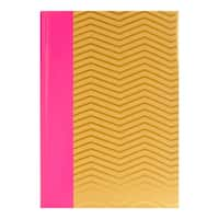 3 Up Pink and Gold Craft Chevron Photo Album, Set of 4