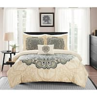 Chic Home Fanny 8 Piece Reversible Duvet Cover Set Bed in a Bag