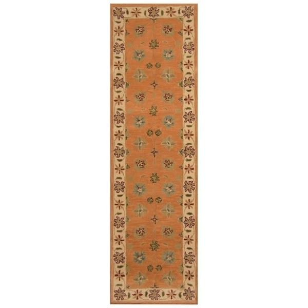 Handmade Mimana Wool Kilim (India) - 2'8 x 9'3