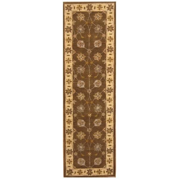 Handmade Mimana Wool Kilim (India) - 2'8 x 9'9