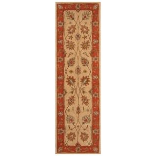 Handmade Mimana Wool Kilim (India) - 2'8 x 9'4
