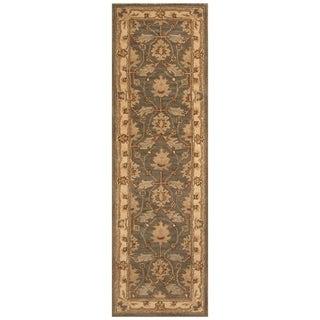 Handmade Mimana Wool Kilim (India) - 2'7 x 4'