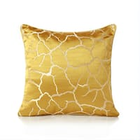 """Jacquard"" Abstract Patterned Accent Pillow (18-in x 18-in)"