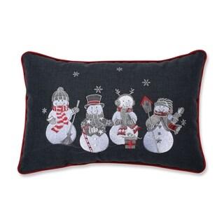 Christmas Frosty and Friends Lumbar Pillow