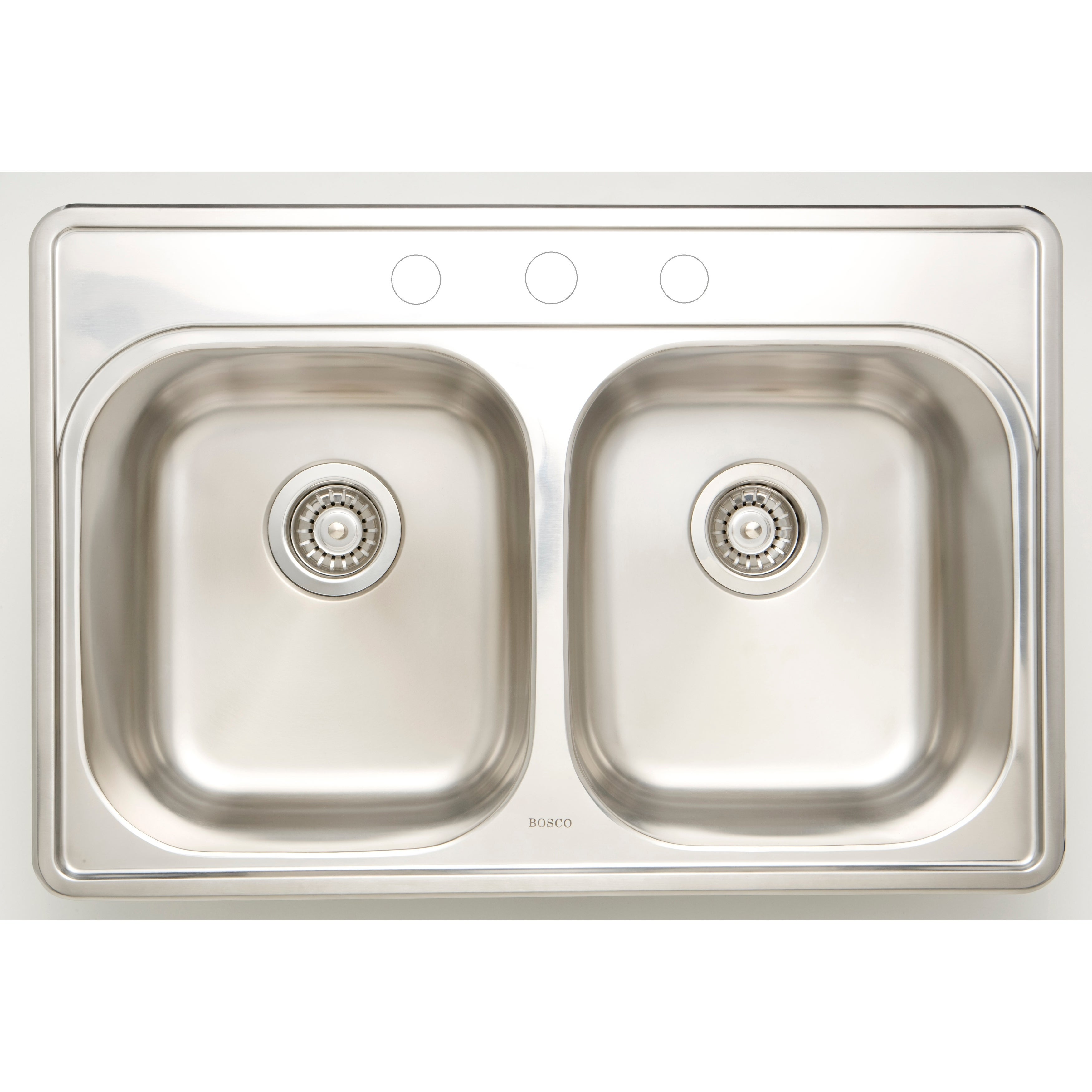30 5 In W Csa Approved Chrome Kitchen Sink With Stainless Steel Finish And 18 Gauge Overstock 25607207