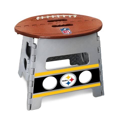 "NFL - Pittsburgh Steelers Folding Step Stool 14""x13"""