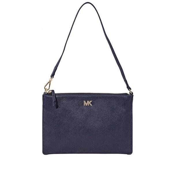 f938ba60a163 Shop MICHAEL Michael Kors Medium Leather Convertible Pouch - Free ...