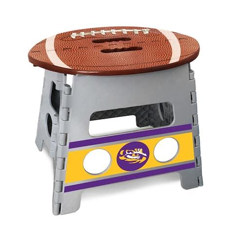 NCAA Louisiana State University Folding Step Stool