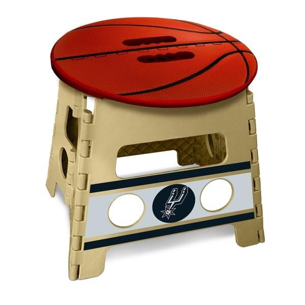 Miraculous Nba San Antonio Spurs Folding Step Stool Ibusinesslaw Wood Chair Design Ideas Ibusinesslaworg
