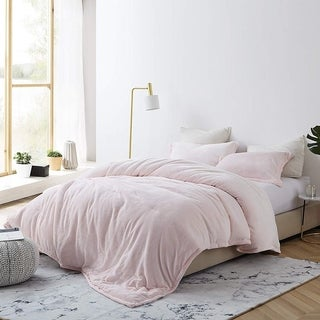 Link to Porch & Den Clematis Frosted/ Rose Quartz Oversized Comforter Similar Items in Comforter Sets