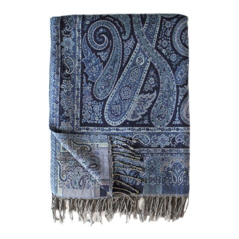Bohemian Blend Collection Paisley Throws