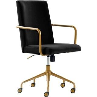 Elle Decor Giselle Gold Desk Chair