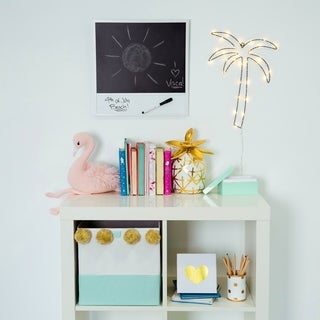 Asher Home Dry Erase and Chalk Board