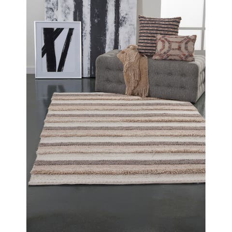 Padria Natural and Beige Area Rug by Greyson Living