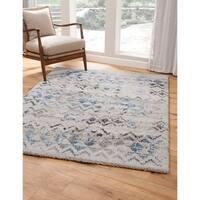 Tivoli Ivory and Blue Area Rug by Greyson Living