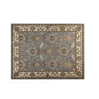 Caspian Hand-tufted Wool Rug Area Rug 5 X 7