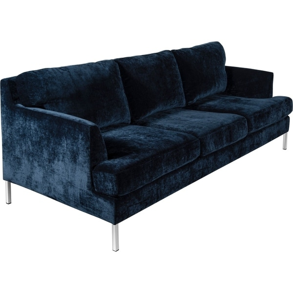 Awesome Shop Tommy Hilfiger Lafayette Velvet Sofa Ships To Canada Home Interior And Landscaping Transignezvosmurscom