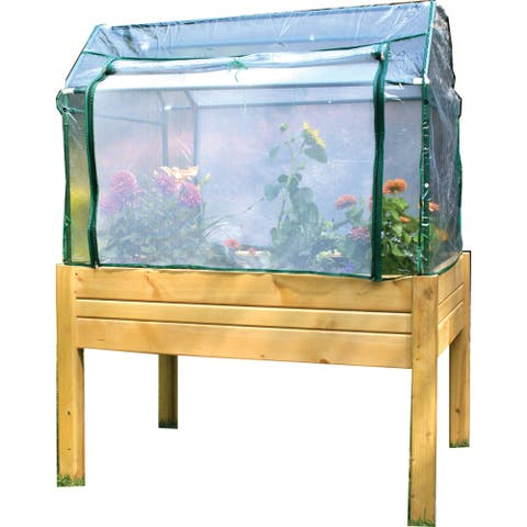 EDEN Medium Raised Garden Table - With Optional Enclosure Included