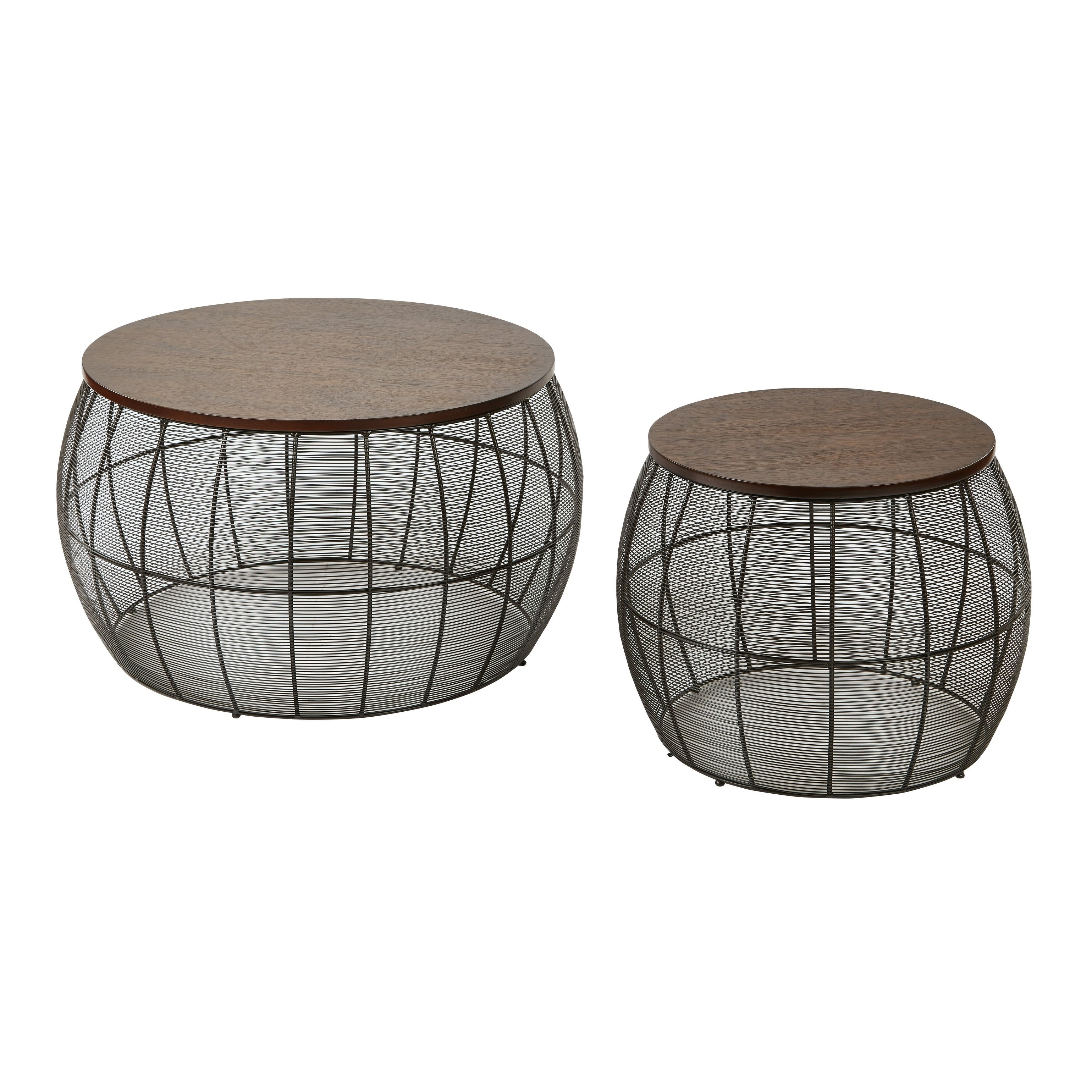 - Shop Camden 2 Piece Round Metal Accent Tables - Overstock - 25610084