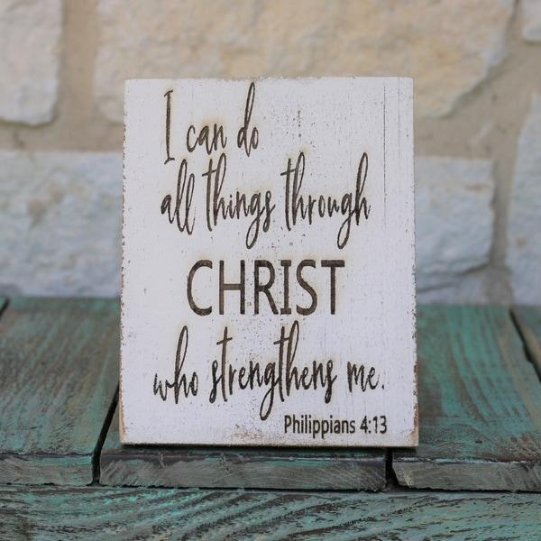 All Things Christ 5x7 Horizontal