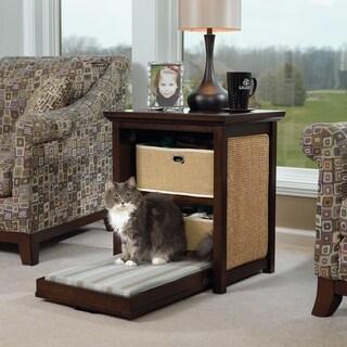 Sauder Side Table Cat Bed