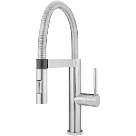 Geyser GF82-S Andorra Series Stainless Steel Magnetic-Docking Kitchen Faucet