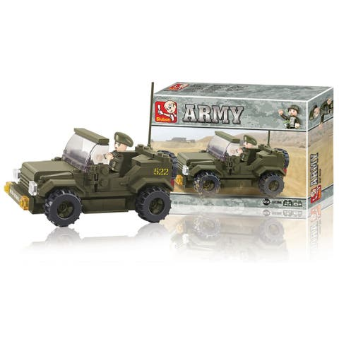 Sluban Land Forces Jeep (121 Pcs) B0296
