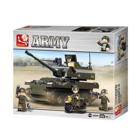 Sluban Land Forces K-9 Tank (258 Pcs) B9800