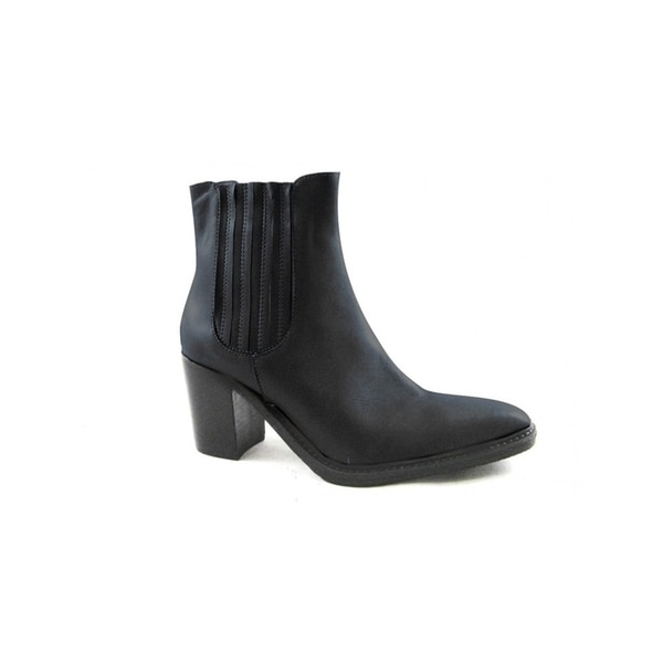 ... cfc1a 26d5d Ethem Womenx27s Heeled Boots in Savage Black quality design  ... 5c129df890a0