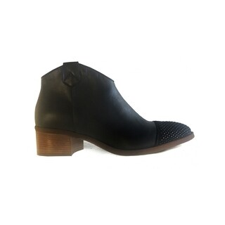 Ethem Women's Low-cut Booties in Savage Black