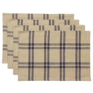 Leo Placemats Set of 4 - N/A