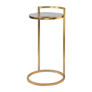 Uttermost Cailin Bright Gold Accent Table