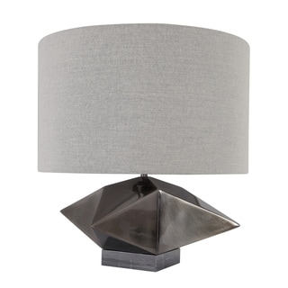 Link to Uttermost Ignacio Antique Brush Nicke Geometric Table Lamp Similar Items in Table Lamps