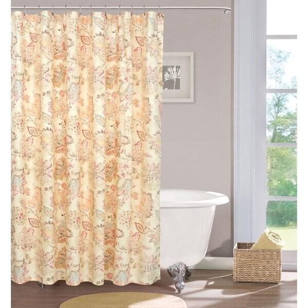 Shop Calais Farmhouse Shower Curtain