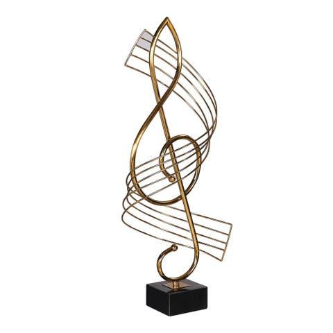 Uttermost Score Brass Musical Sculpture