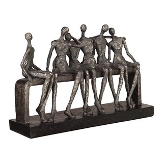 Uttermost Camaraderie Aged Silver Figurine