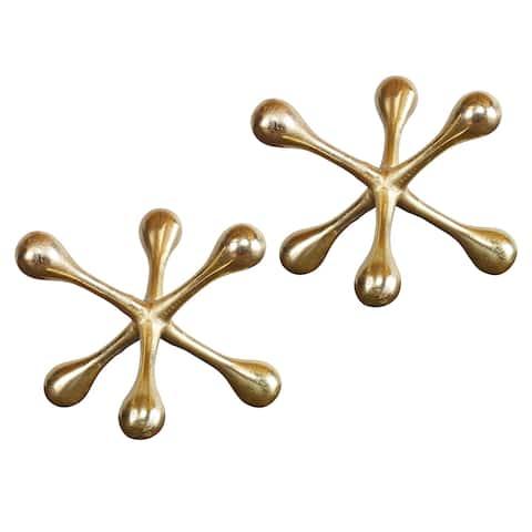 Uttermost Harlan Brass Objects (Set of 2)